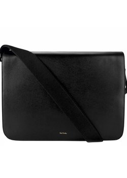 SOLD❗️PAUL SMITH New City Leather Messenger Bag Black