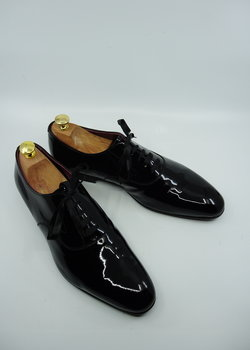 NEW Edward Green Patent Leather Tuxedo Shoes UK 10 EU 44