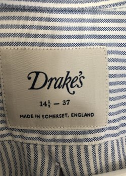 Assorted Drake's and Turnbull&Asser Shirts.