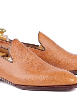Enzo Bonafè - wholecut loafer in vintage pig skin - 10.5