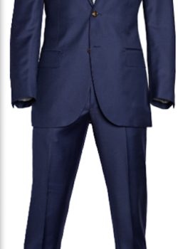 Suitsupply Lazio Navy Suit - VBC Super 110's - Size 32R US / 42EUR/ 34UK