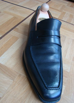 Berluti black loafers Size 9 Excellent condition