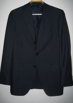 BOGLIOLI SARTORIA STRIPED JACKET