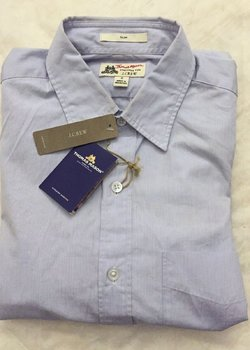J CREW X THOMAS MASON FINE STRIPE SHIRT MENS SMALL NEW SOLD OUT $148 MSRP