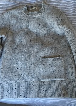 FINAL DROP NWT Universal Works Grey Wool Pullover Size S FINAL DROP + Free Shipping