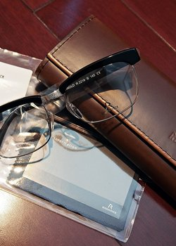 DROP - New Rodenstock Revival Collection Arnold Browline Eyeglasses (Limited Edition of 1000)