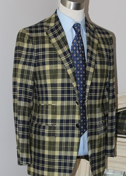【Sold】Final Drop! NWT Kiton for Sartorio Sportcoat 38 -40  US BRAND NEW W/ TAGS