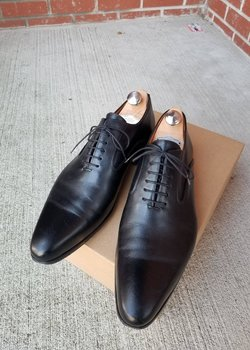 Rozsnyai plain toe oxford