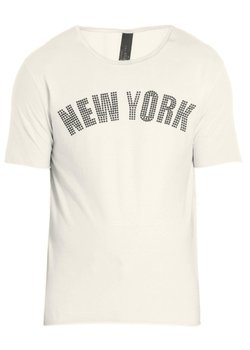 GIORGIO BRATO WLG New York Studded T-Shirt White S-M