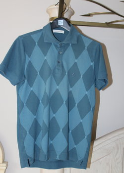 Mint Ballantyne Polo Shirt, Size S