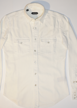 TOM FORD DENIM SHIRT NWT 39IT / 15.5