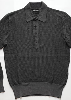 TOM FORD NWT KNITTED POLO 48IT / 38 US