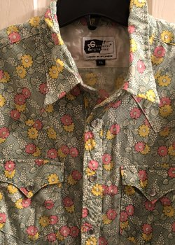 Elusive ENGINEERED GARMENTS Western Floral Shirt — XL / Fits L