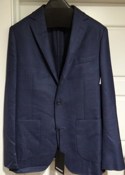 10/12 PRICE DROP! NWT Bonobos Navy Slim Fit Wool Unstructured Sport Coat/ Blazer Size 36R