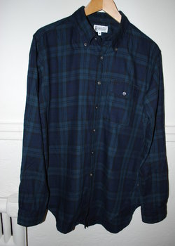 Engineered Garments workaday flannel shirt