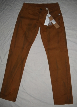 BNWT Timezone mens oil painted brown pants 29/30