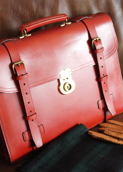 【Sold】Beautiful Swaine Adeney Westminster Wrap Briefcase