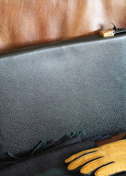 【Sold】Smythson Pig Skin Leather Portfolio Document Holder/Bag/Clutch