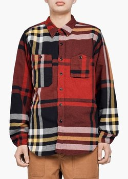 Engineered Garments Work Shirt Heavy Twill Plaid size Medium, BNWT