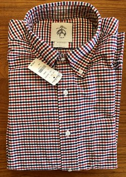 Brooks Bros Black Fleece oxford shirts, sz BB2/Medium, NWT