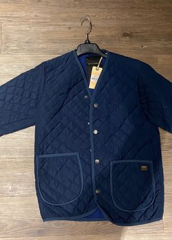 ### SOLD ### Deus ex Machina (NWT!!) quilted jacket, size M