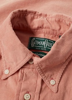 [SOLD] Gitman Bros. Vintage Dusty Pink Corduroy Shirt M
