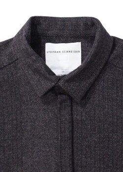 Stephan Schneider Hidden Placket Flannel Shirt M