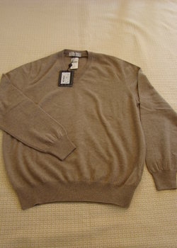 NWT Zegna 100% cashmere sweaters