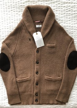 Apolis Alpaca Shawl Cardigan NWT Size Medium