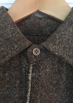 *SOLD* Frank Leder wool shirt/overshirt