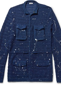Eidos Paint Splatter Cardigan in Great Condition Size Large