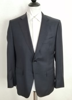 NWT Current ISAIA Napoli EU54R US44R Suit Charcoal RRP: 4150 USD