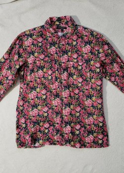 Engineered Garments Floral Button Shirt S