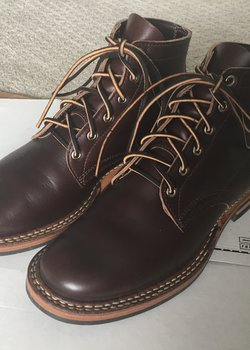 White's Boots Semi Dress Brown Horsehide 55 Last 10 D