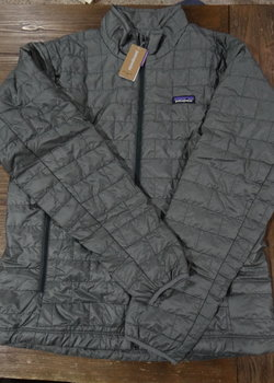 SOLD!  NWT Patagonia Nano Puff Jacket Cave Grey Sizes Medium & Large