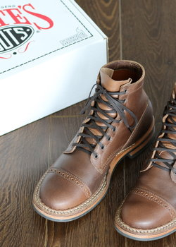 White's Boots Bounty Hunter Waxed Flesh Natural 55 Last 10 D