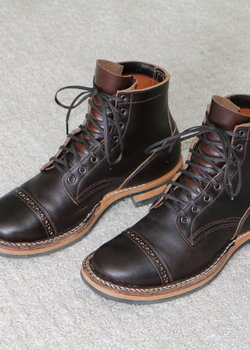 White's Boots Bounty Hunter Waxed Flesh Brown 55 Last 10 D