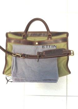 Ettinger Wimbledon Canvas Briefcase