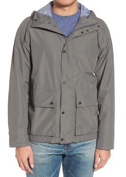 "PRICE DROP 6/9! NWT Barbour ""Twine"" Grey Waterproof Jacket Size Large Retail $329"