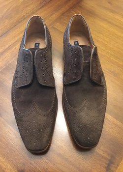 Paul Smith brown suede shoes