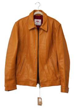James Grose Aviation Cowhide Leather Jacket - 42