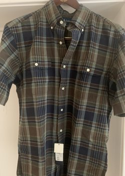 RL Polo Madras Summer Shirt  ***SZ SMALL, CLASSIC FIT***