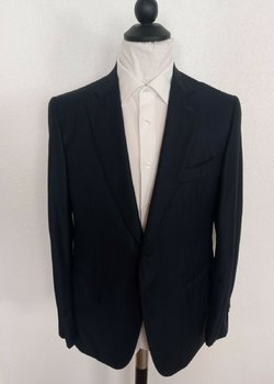NWT ISAIA NAPOLI EU Current 52R Drop 7 US 42R Navy Suit RRP: 3,999$