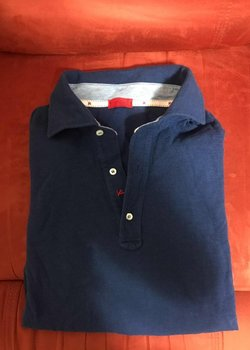 Sold Pack of 1 Isaia Polo Shirt and 1 Luciano Barbera Shirt