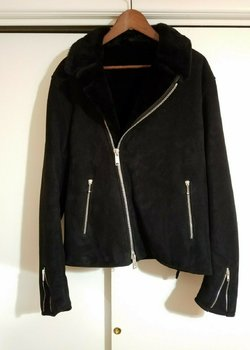 James Grose Shearling Leather Jacket size US42 (fits US40)