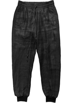LOST & FOUND Ria Dunn Tapered Ramie Drawstring Pants S/30-32