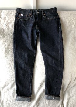 Studio D'Artisan SD-106 Raw Indigo Selvedge Denim Jeans