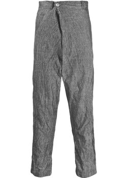 Transit Uomo Tapered Corduroy Drawstring Pants Wrap-front IT46/29-31