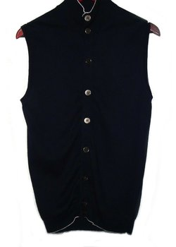 SUITSUPPLY SLEEVELESS CARDIGAN