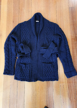 SOLD: Eidos Thompson Belted Cardigan L